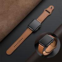 Кожаный ремешок для часов Apple Watch 38/40/42/44 мм