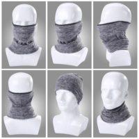 Зимний флисовый бафф шарф для шеи для езды на велосипеде, сноуборде, лыжах