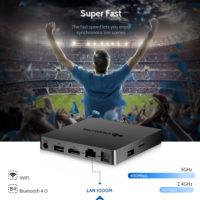 DEALDIG BOXD6 3/32 Гб ТВ приставка TV Box Android 7,1