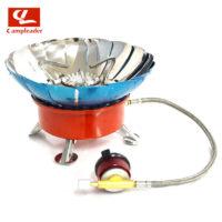 CAMPLEADER CL045 Туристическая газовая горелка плита с ветрозащитой