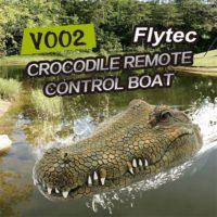 Flytec RC Boat V002 голова крокодила на пульте дистанционного управления