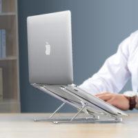 Портативная складная алюминиевая регулируемая подставка для ноутбука