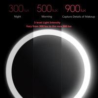 Косметические зеркала с подсветкой от Xiaomi с Алиэкспресс - место 2 - фото 6