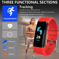 ZAPET умные смарт фитнес часы с мониторингом сердечного ритма