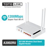TOTOLINK A3002RU AC1200 беспроводной двухдиапазонный Wifi роутер маршрутизатор с поддержкой AC 2,4 + 5 ГГц, 300/867 Мбит/с