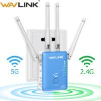 Wavlink WL-WN575A3-BU беспроводной двухдиапазонный Wifi роутер ретранслятор маршрутизатор с поддержкой AC 2,4 + 5 ГГц, 1200 Мбит/с