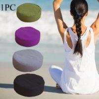 Круглая подушка для медитации, йоги
