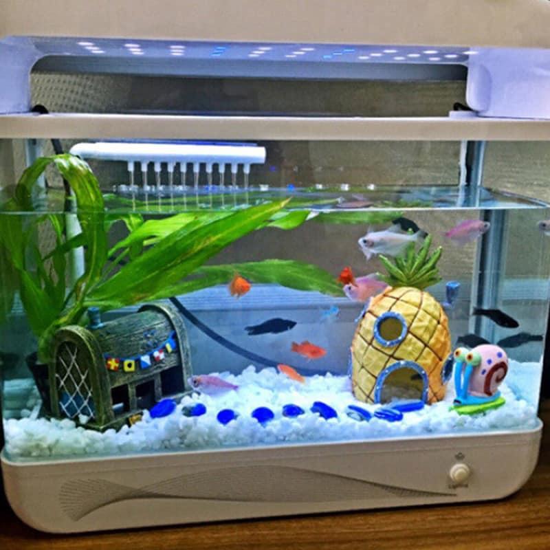Домики для аквариума  фото