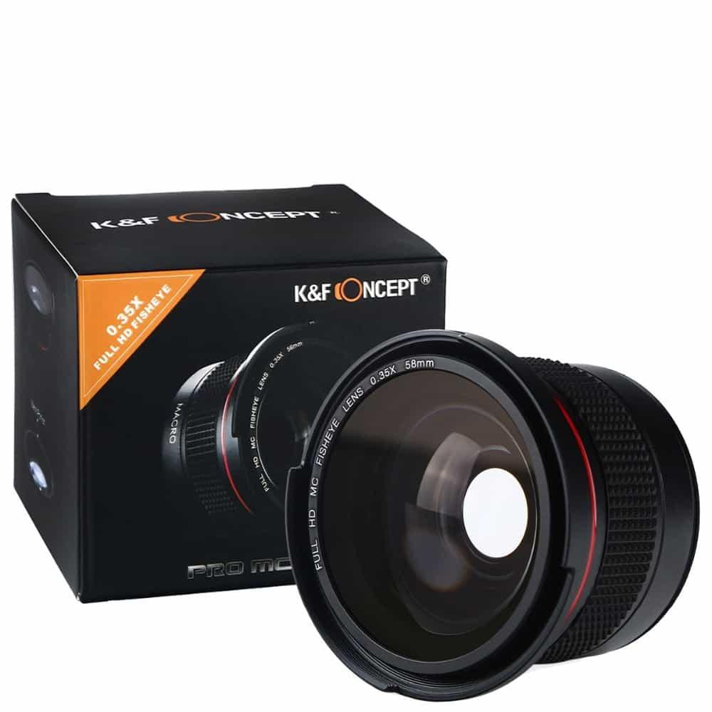 Купить Насадка на объектив Рыбий глаз (Fisheye) для Canon недорого в магазине Алиэкспресс (Aliexpress)