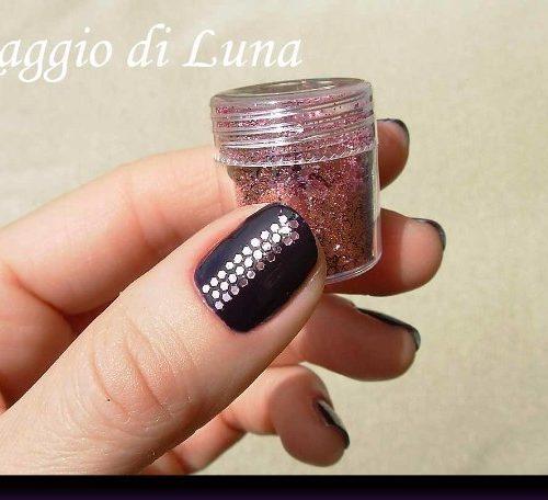 Дизайны ногтей с паетками